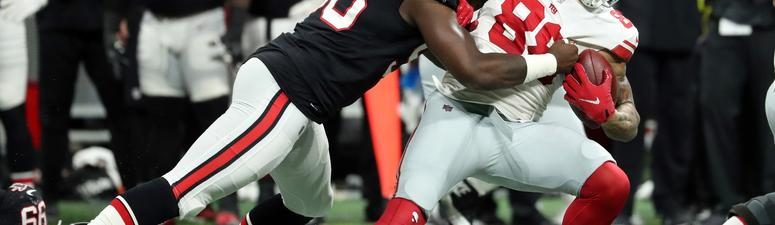 Ryan throws for 379 yards, Falcons beat Giants 23_20