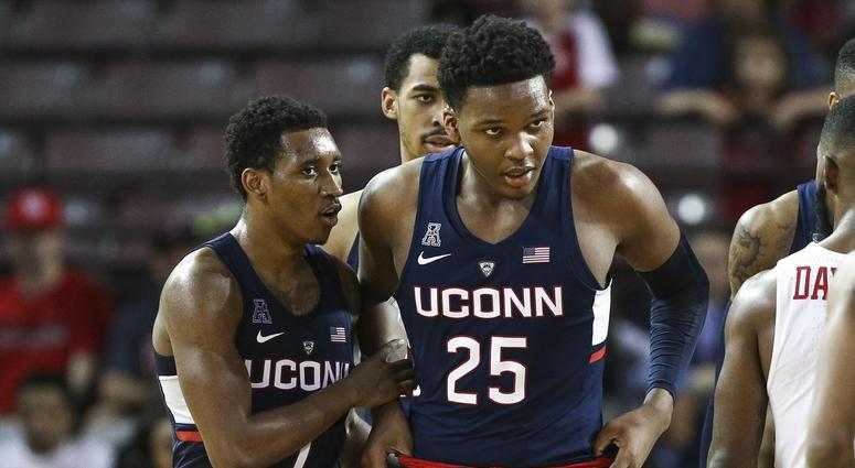 UConn's Vital To Declare Eligibility For NBA Draft