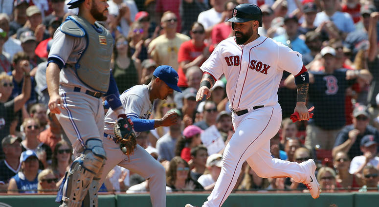 Bogaerts, Holt Help Red-Hot Red Sox Enter Break With Win