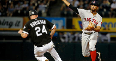 Rodriguez Strikes Out 12 As Red Sox Beat White Sox 6-1