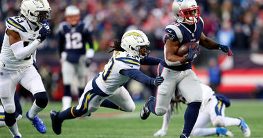 Michel Scores 3 TDs, Patriots Roll Past Chargers 41-28