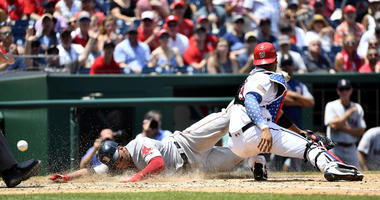 Bradley, Red Sox Complete Sweep