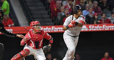 Red Sox continue best-ever start with 9-0 win over Angels