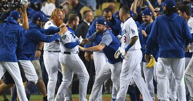 Late show: Dodgers outlast Red Sox in longest Series game
