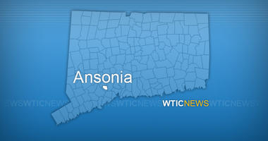 Car Hits Building In Ansonia