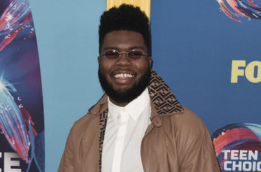"""Khalid at FOX's """"Teen Choice 2018"""" at The Forum on August 12, 2018 in Los Angeles, California."""