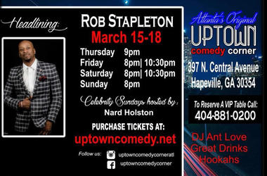 Uptown Comedy Rob Stapleton