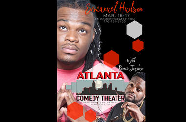 Atlanta Comedy Theater Presents Emmanuel Hudson with Ronnie Jordan!