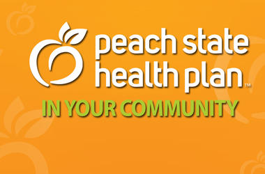 Peach State Health Plan Calendar Header