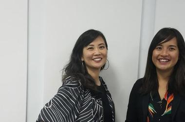 Asian Americans Advancing Justice-Atlanta. Executive Director Stephanie Cho (l) and Litigation Director Phi Nguyen (r)
