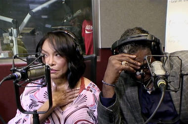 Lynn Whitfield and Keith Davis of OWN's Greenleaf on V-103's Frank and Wanda In The Morning