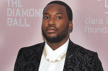 Meek Mill At The Diamond Ball