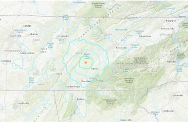 A 4.4 magnitude earthquake in Tennessee Wednesday morning could be felt in Atlanta