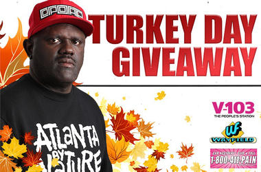 V-103's Turkey Day Giveaway