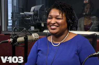 Stacy Abrams in Studio