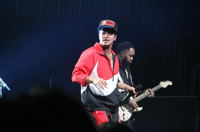 Bruno Mars performs at the Bud Light Super Bowl Music Fest in Atlanta on Saturday, February 2, 2019