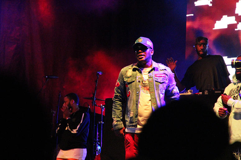 Rapper Cam'ron performs as part of The Diplomats show at A3C in Atlanta on October 7, 2018