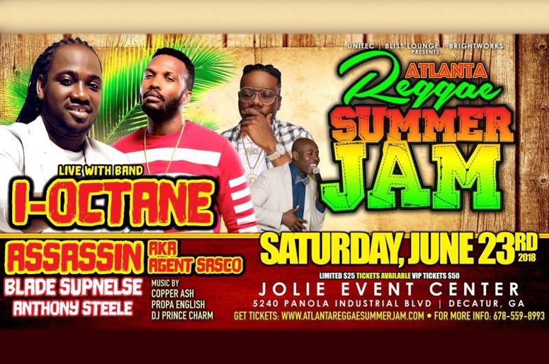 2nd Annual Atlanta Reggae Summer Jam
