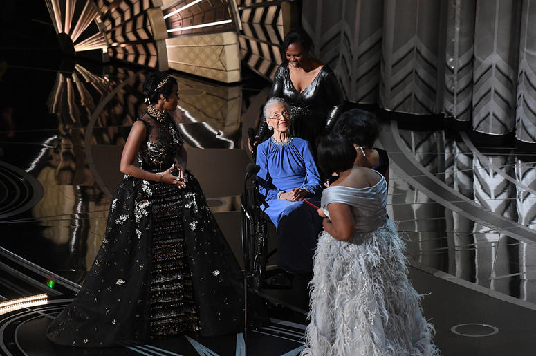 Katherine Johnson at 2017 Oscars