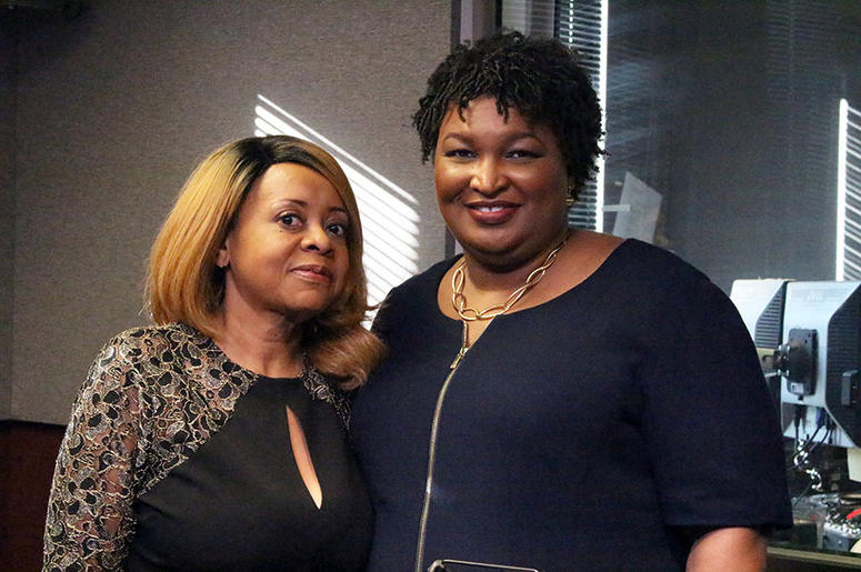 Maria Boynton and Stacey Abrams