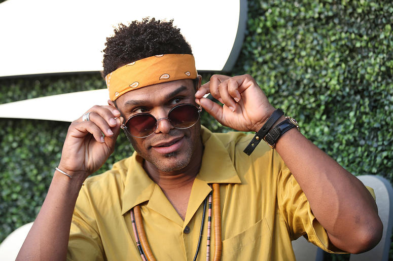 Singer Maxwell attends the USTA Foundation Opening Night Gala at the USTA Billie Jean King National Tennis Centre in Corona Park, in the Queens brought of New York, NY, on August 27, 2018.