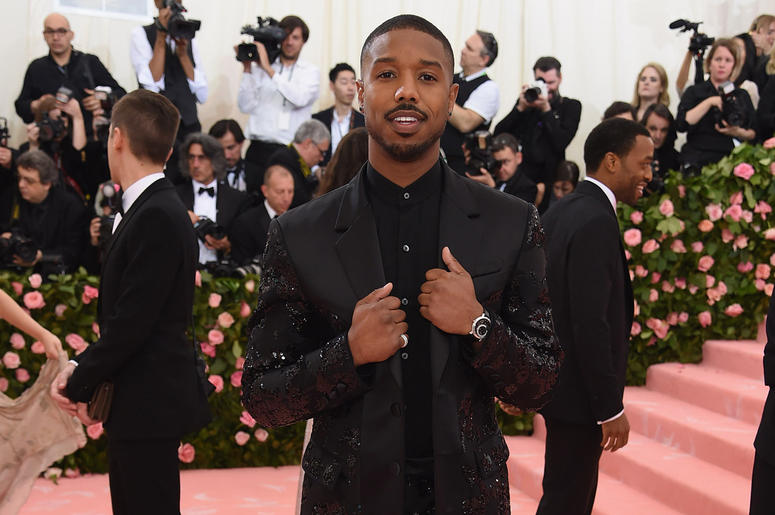 Image result for michael b jordan met gala