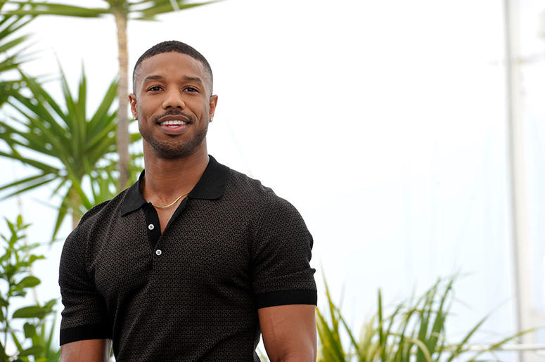 Michael B. Jordan at the 71st Cannes Film Festival in May 2018