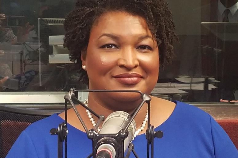 Stacey Abrams ran to become the first female African American governor in the United States