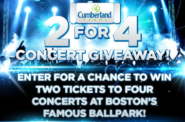 Cumberland Farms Two For Four Ticket Giveaway