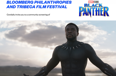 FREE community screening of BLACK PANTHER