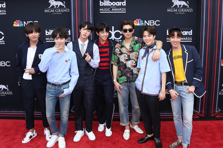BTS. 2018 Billboard Music Awards Red Carpet
