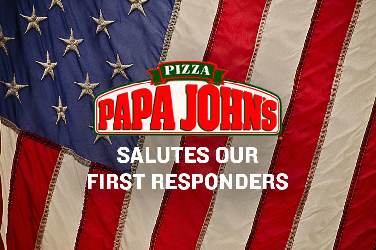 Papa John's Salutes Our First Responders Contest