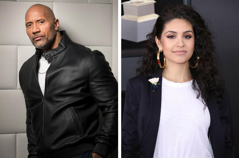 The Rock And Alessia Cara