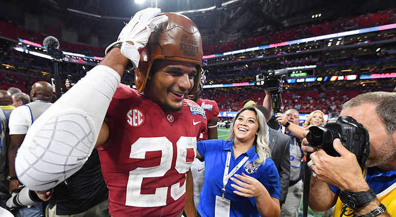 Alabama Crimson Tide defensive back Minkah Fitzpatrick