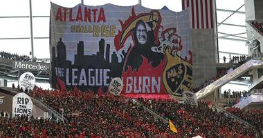 Atlanta United tifo