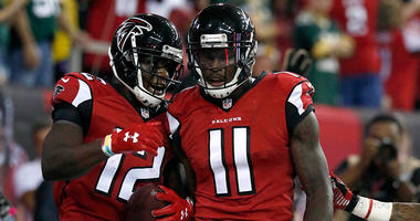 Mohamed Sanu, Julio Jones