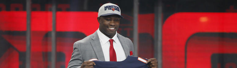 Roquan Smith: 'Bears have a rich linebacker tradition and I'm going to give them my all'