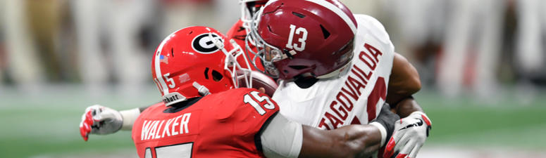 Blackledge: D'Andre Walker was just as big of a loss as Deandre Baker for UGA
