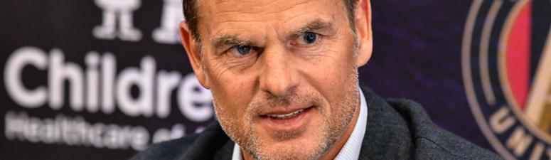 de Boer: 'I'm not here to change what works'