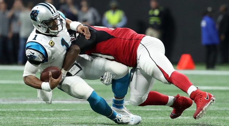 """Falcons Jerome Henderson """"You have to see what you're going to hit"""""""