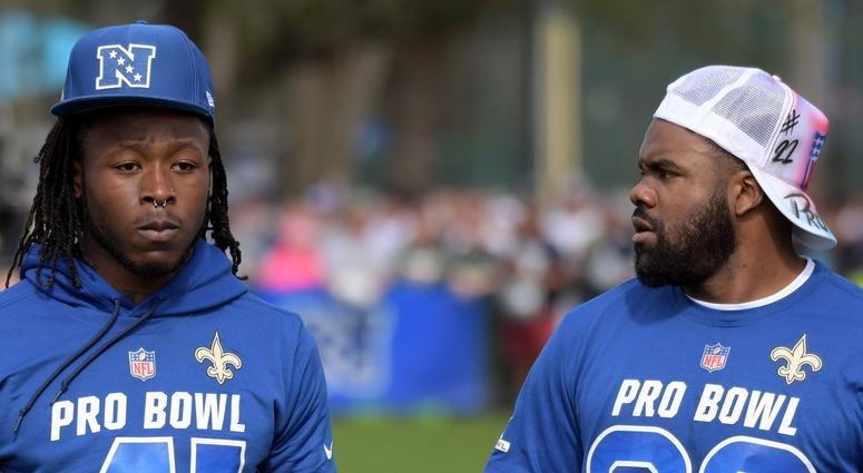 Alvin Kamara & Mark Ingram