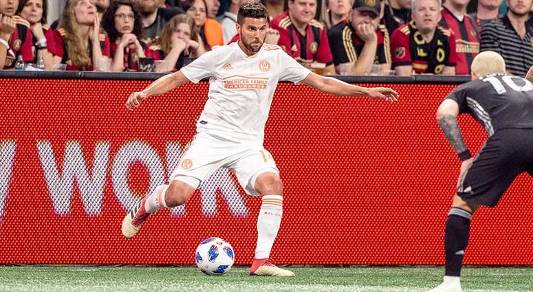 Atlanta United defender Sal Zizzo
