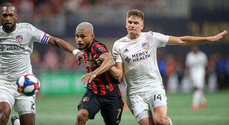Atlanta United forward Josef Martinez