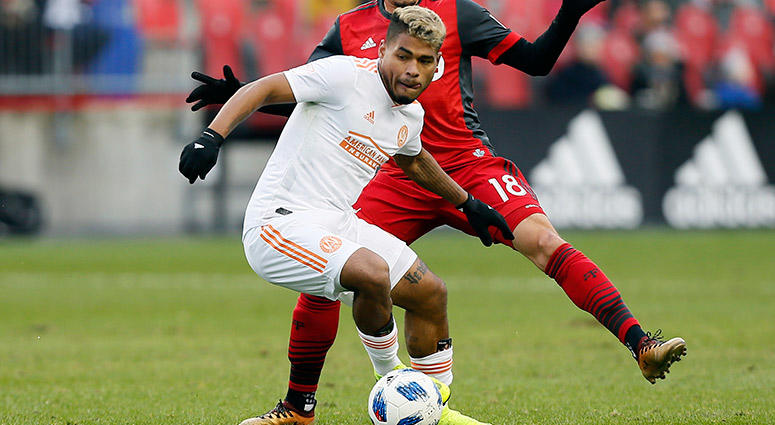 Atlanta United FC forward Josef Martinez