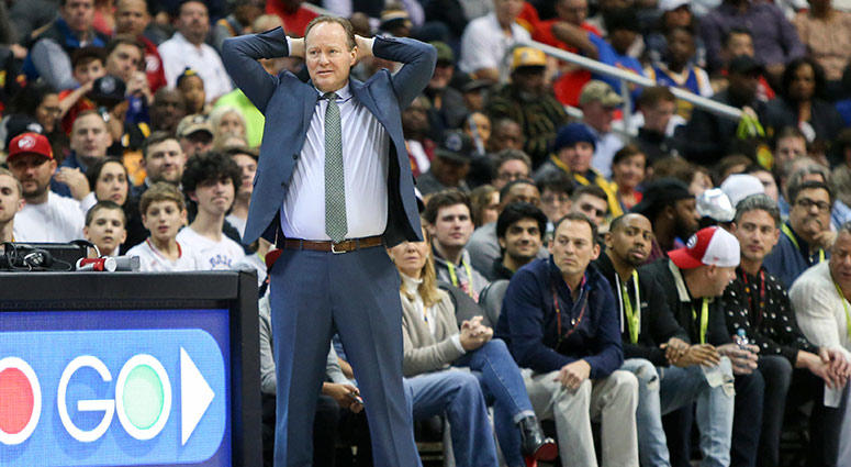 Atlanta Hawks head coach Mike Budenholzer