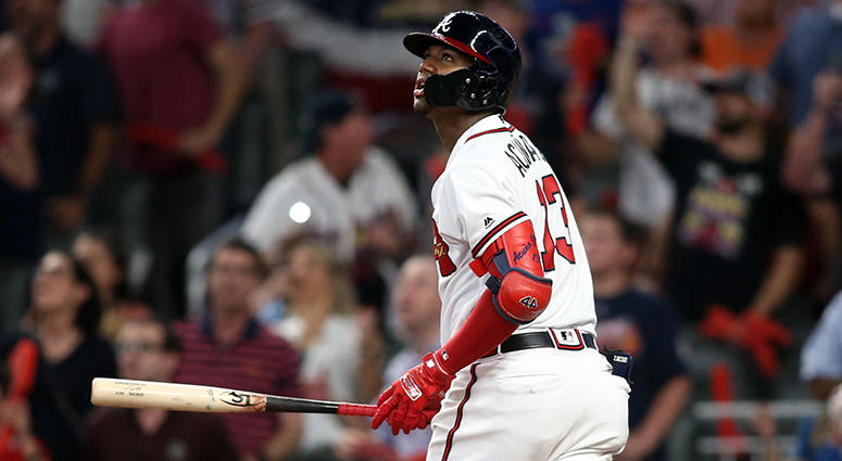 Atlanta Braves left fielder Ronald Acuna Jr.