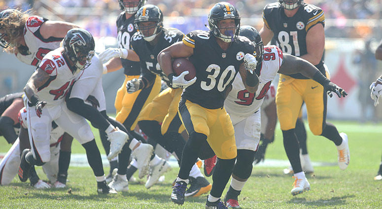Pittsburgh Steelers running back James Conner