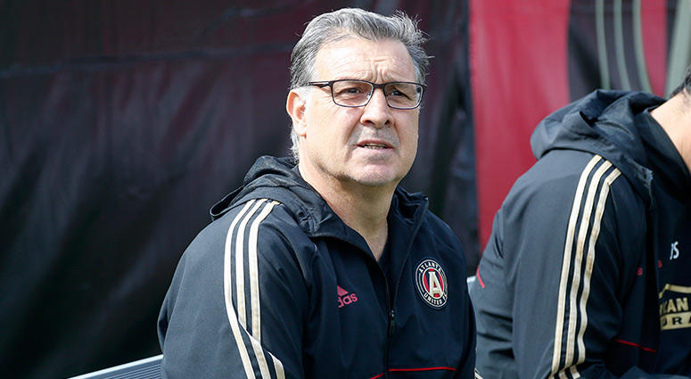 Atlanta United head coach Gerardo Tata Martino