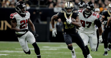 Archer on containing Saints Thomas: keep him from having the big play