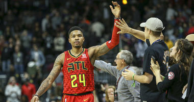 Bazemore on Trae Young: 'He's an explosive scorer'